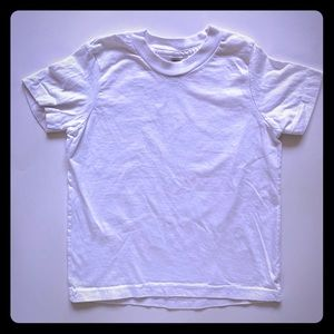 4 for $18! American Apparel blank white cotton T